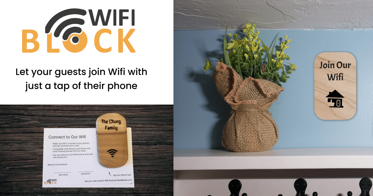 Show HN: The Wifi Block – Let your guests connect to WiFi with just a tap
